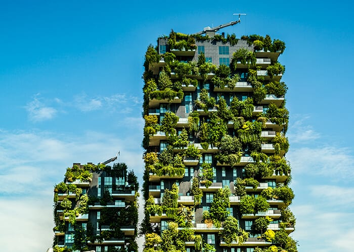 circular city green building