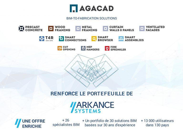 ARKANCE fait l'acquisition d'AGACAD