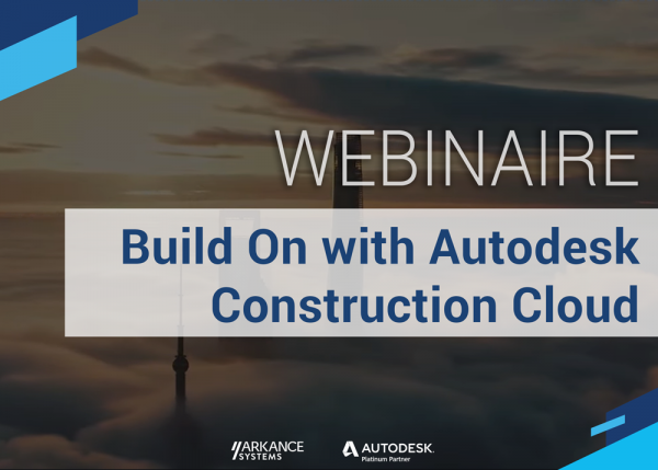 Webinaire Autodesk Construction Cloud