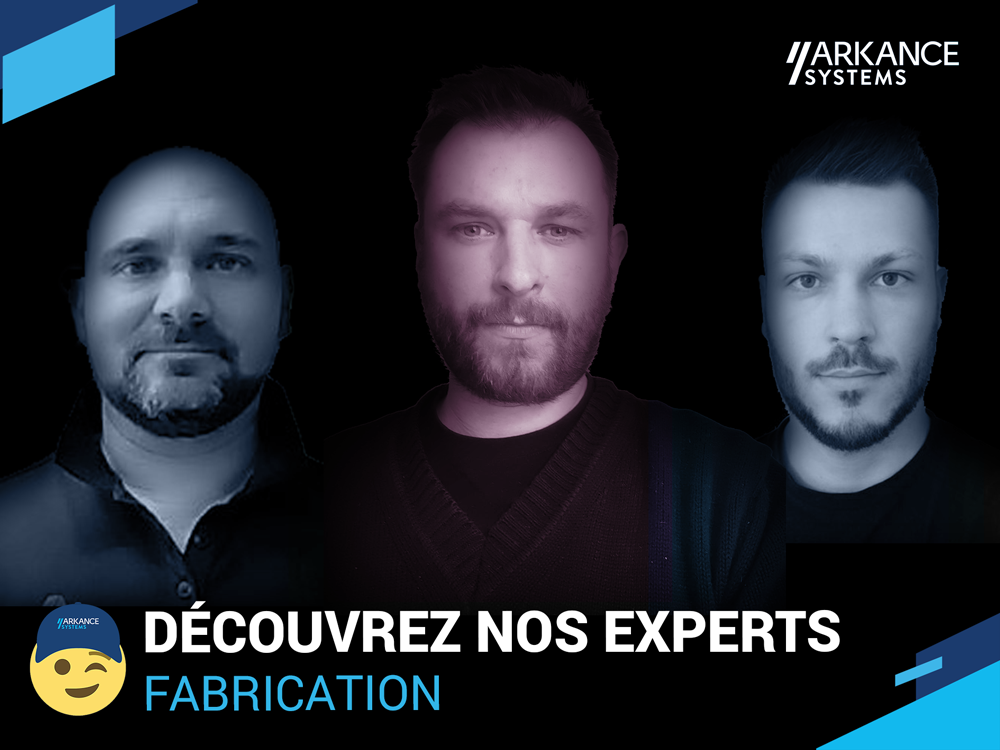 Nos experts Fabrication